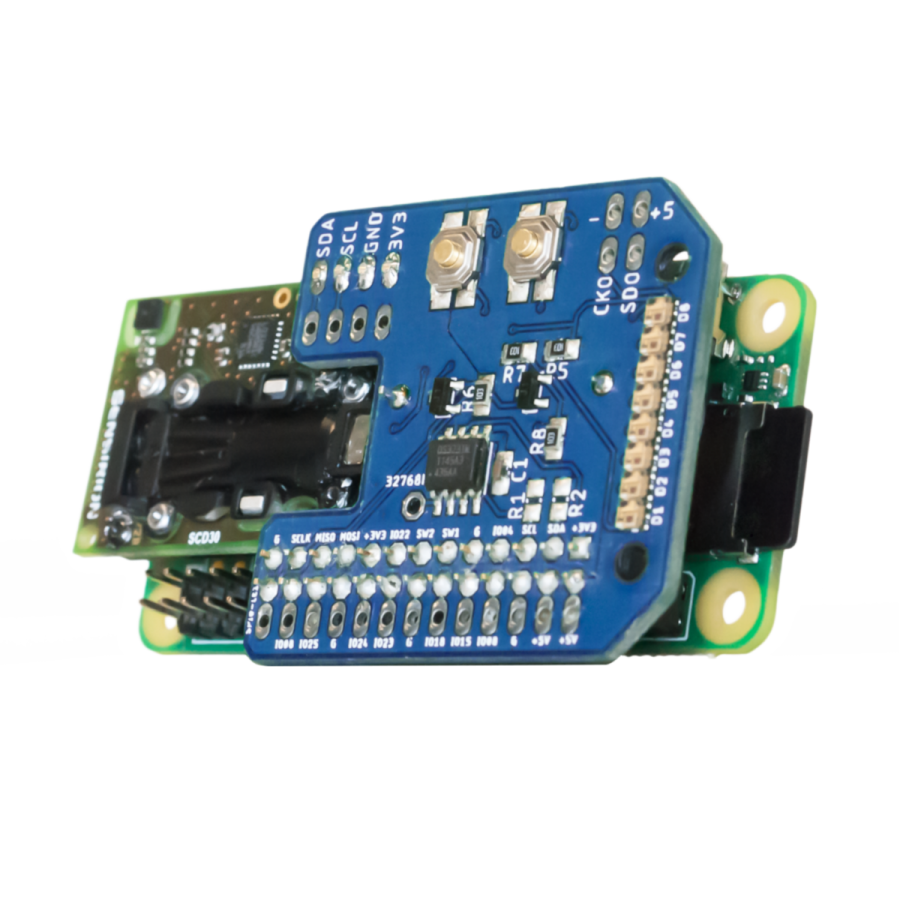 CO2 logger development kit